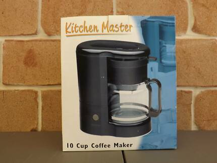 Kitchen Master 10 Cup Coffee Maker - NEW