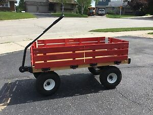 Wagon with removable sides