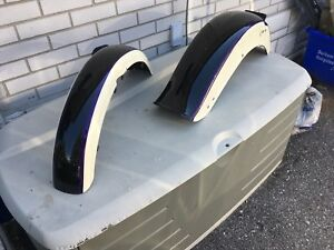 H-D  FX Bob front and rear fenders