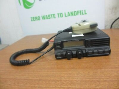 Vertex Vx-4000l Low Band Mobile Radio W Vertex Standard Mic Microphone Mh-25b7