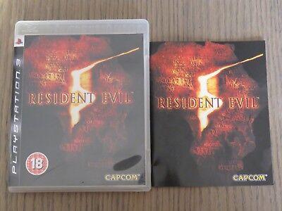 JEU PLAYSTATION 3 PS3   RESIDENT EVIL  COMPLET