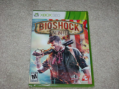 BIOSHOCK INFINITE...XBOX 360...***SEALED***BRAND NEW***!!!!!!!! for sale  Shipping to South Africa