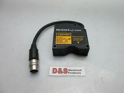 Keyence Lc-2420 Reflective Laser Displacement Sensor 670nm 1.9mw