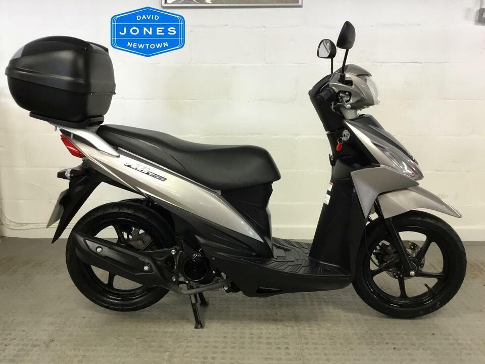 Suzuki UK110 NE L6 Address 2016 / 16 Only 1734 miles