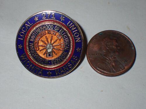 IBEW Collectible Lapel Pin Local 271 Wichita KS