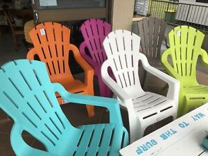 'ADIRONDACK' STYLE OUTDOOR CHAIRS - $99 EACH BRAND NEW! Palm Beach Gold Coast South Preview
