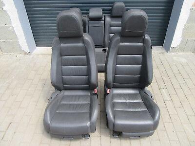 Elektrisch Verstellbare Leder (SITZAUSSTATTUNG Original + VW Golf 5 + GTI Sportsitze schwarze Lederausstattung)