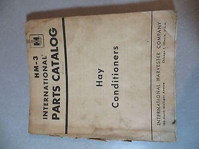 Farmall Ih Hay Conditioner Hm-3 Parts Catalog