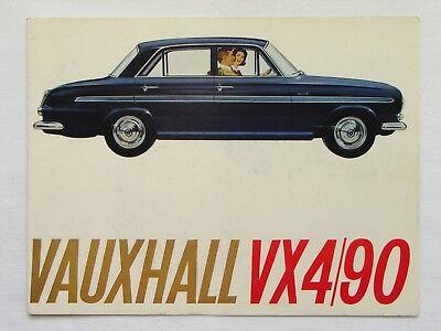 Vauxhall VX4/90 leaflet/poster 1963/1964