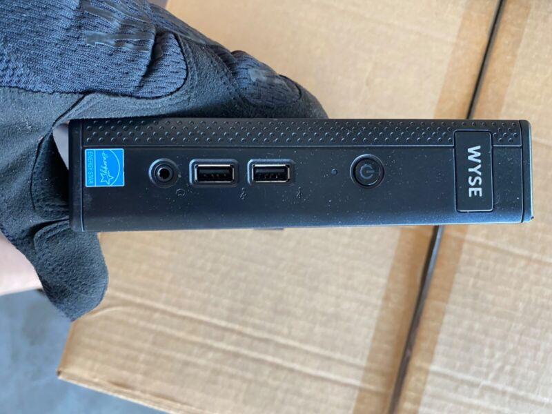 Dell Wyse 5060 Thin Client Thin OS 8.3 AMD GX-424CC 2.4GHz 4GB RAM 8GB SSD H0C1T