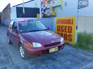1998 Toyota Starlet Hatchback 1 Year Roadside Assist Woy Woy Gosford Area Preview