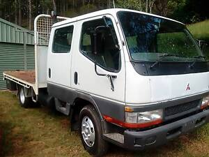 mitsubishi canter duel cab tray back truck low klms swap trade Cooroy Noosa Area Preview
