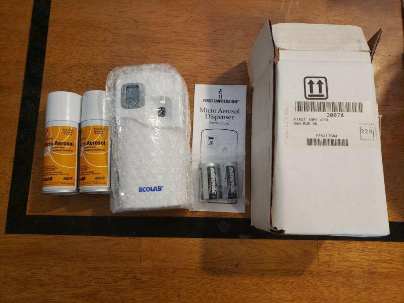 Ecolab First Impression Micro Aerosol Starter Kit Mandrin Burst 30074