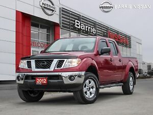 2012 Nissan Frontier SV JUST TRADED CLEAN AND LOW KM'S