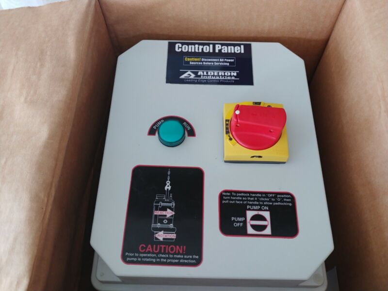 Manual motor Starter, Nonmetallic Type 4 Enclosure, 3 Pole, 6.3 Amp max.