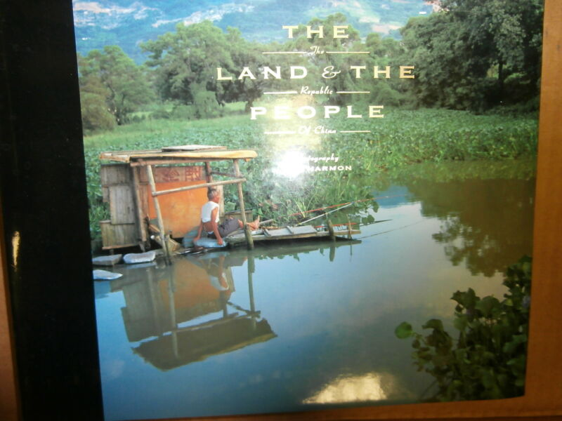 "Book: ""The Land and the People  of China"" Hardcover"