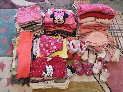 Kleidung Mädchen Baby Kleidungspaket Größe 50-62, 108 Teile