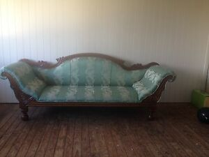 2 Seater Chaise Lounge - Antique reproduction design Loganholme Logan Area Preview