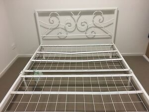 White double bed frame Ellen Grove Brisbane South West Preview