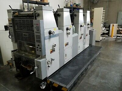 1999 Hamada B452 14 X 20 Four Color Press