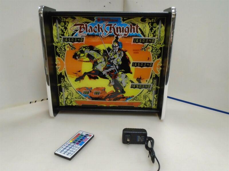 Williams Black Knight Pinball Head LED Display light box
