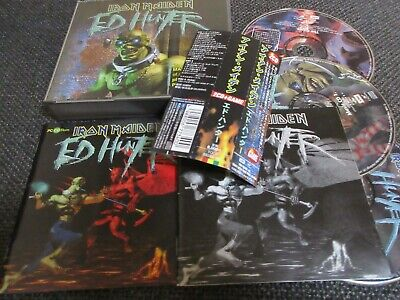 Usado, IRON MAIDEN / ed hunter /JAPAN LTD 2CD +1CDROM OBI comprar usado  Enviando para Brazil