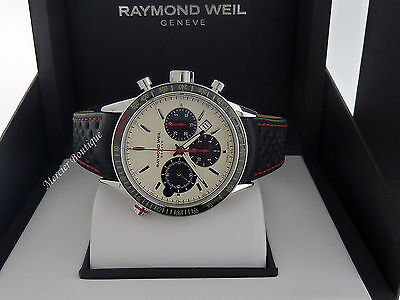 NEW Raymond Weil Freelancer Automatic Chronograph Men's Watch 7740-SC1-65221