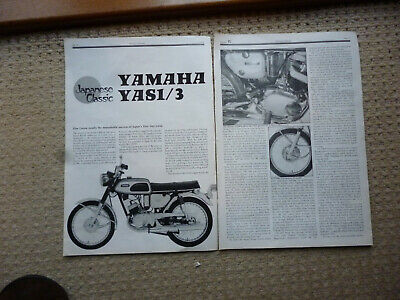 Yamaha YA1-3 125cc twins technical & historical literature-8 items