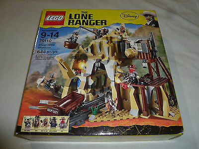 New Disney Lego The Lone Ranger 79110 Silver Mine Shootout Tonto Chief Big Bear