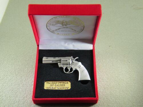 Colt Python revolver miniature replica