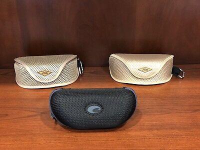 Hobie and Costa Del Mar Sunglasses Cases -  3 For Sale $10.99 (Mens Costa Sunglasses On Sale)