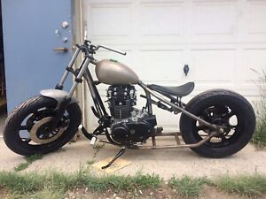 XS 650 bobber project