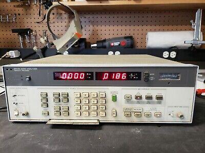Hp 8903b Audio Analyzer