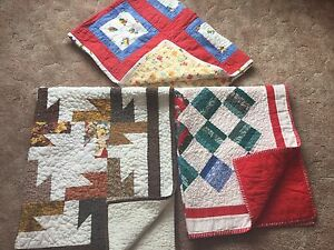 3 QUILTS for children.