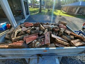 Firewood 7x4 trailer. Red gum and yellow box.