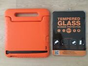 Orange indestructible iPad case and screen protector Enoggera Brisbane North West Preview