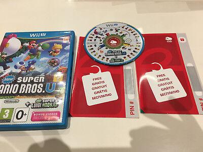Jeu vidéo New Super Mario Bros U + New Super Luigi U Nintendo Wii U