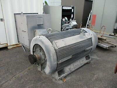 Westinghouse Ac Motor Ae Jh-wt002 1000hp 1200rpm 4000v Fr 500cb Mfd 2005 Used