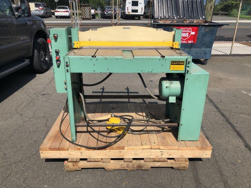 """Di-Acro Power Shear Pwr 36 Electric 36"""" 16GA 16 Gauge Sheet Metal"""