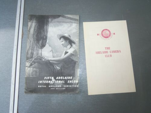 FIFTH ADELAIDE INTERNATIONAL SALON ROYAL ADELAIDE EXHIBITION 1957
