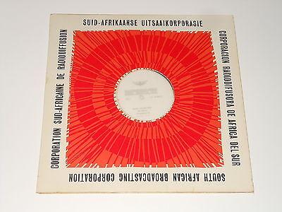 South African Broadcasting Corporation - LP - Etienne Verschueren - Nick Taylor