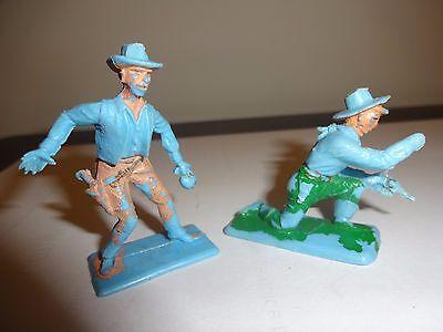 Crescent Toys Plastic Cowboys c1960s