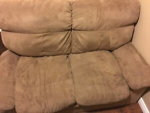 Sofa and love seat, cheap! Good condition
