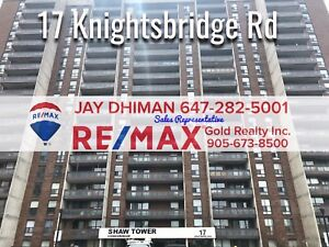 3 BEDROOM CONDO FOR SALE AT KNIGHTSBRIDGE RD. BRAMPTON