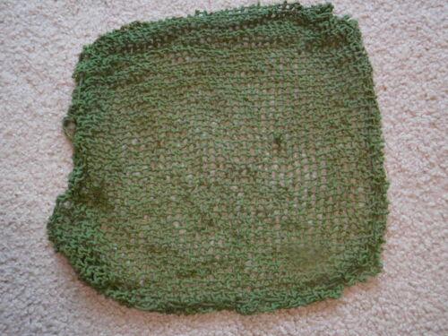 WWII Original British Army Camouflage Helmet Net