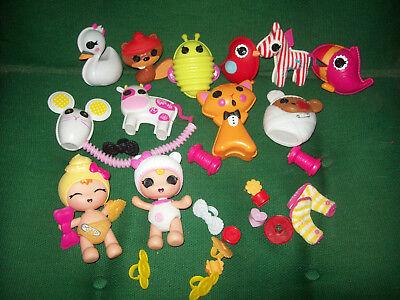 Lalaloopsy 2 Babies 9 Pets Misc.. - $25.00