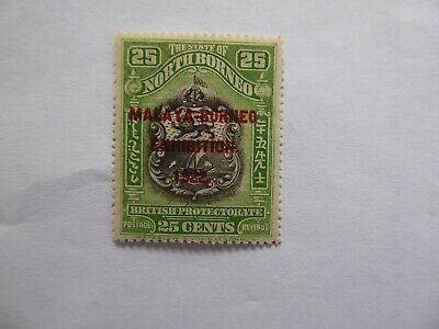 N Borneo 1922 Exhibition 25 c m/mint