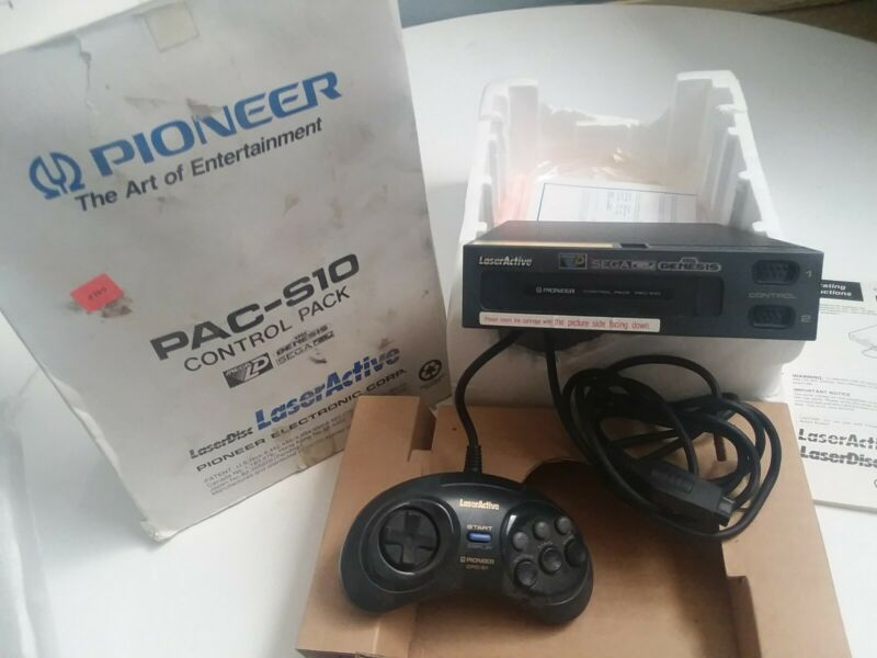 Pioneer LaserActive SEGA Genesis Pac S10 with cpd-s1 controller