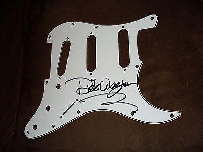 Alice Cooper guitarist Dick Wagner signed pickguard