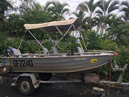 Fully equipped fishing boat with extensive fishing tackle